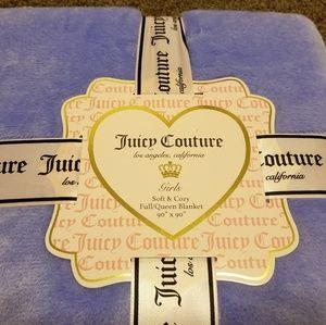 Juicy Couture blanket